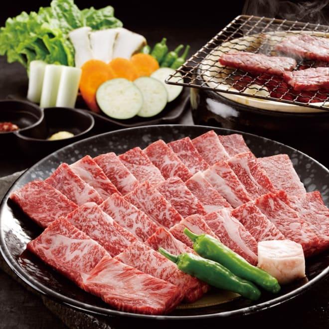 大淀河畔みやちく宮崎牛焼肉 (500g) 【盛付例】