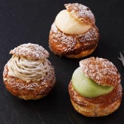 「Patisserie moa(パティスリーモア)」 シュークリーム3種9個