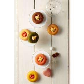 【熨斗付き】ドルチェ・ディ・ロッカ カリーノ アニマルドーナツ&焼き菓子詰合せ 写真