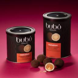 bubo BARCELONA/ブボバルセロナ チョコフルーツ マカダム (190g)【通常お届け】 大粒のナッツが入った「チョコフルーツ」シリーズ。スペイン本店で「止まらない美味しさ」と言われる人気商品。※右の190gのみのお届けです。