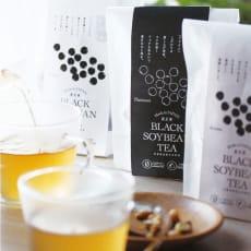 健茶館 黒豆茶 リラックス (5g×10ティーバック×6袋)