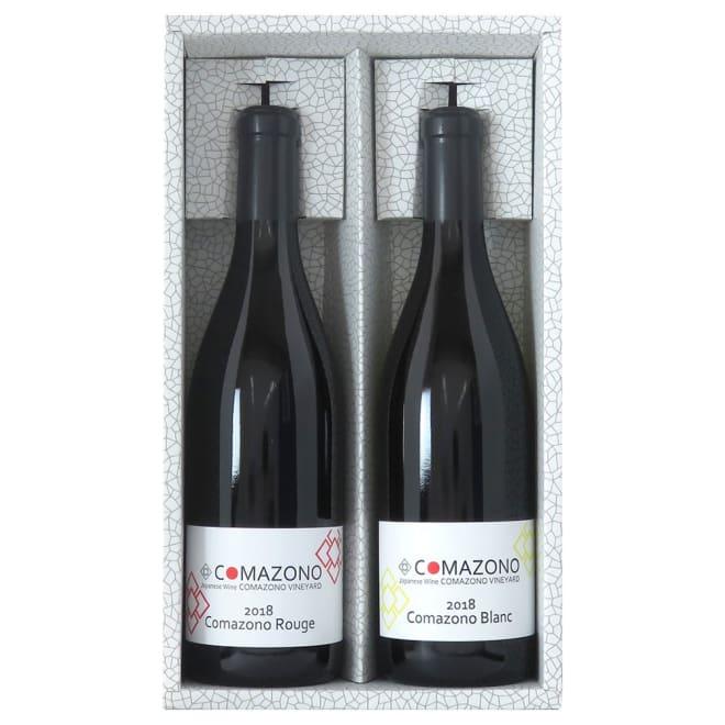 駒園ヴィンヤード 日本ワイン赤白セット (720ml 各1本)