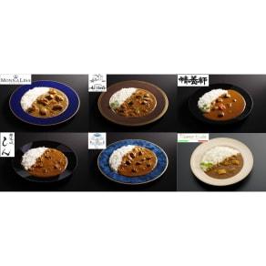 有名シェフ監修 銘店レストランカレー6種セット (各200g 計8パック) 写真