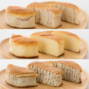 7年保存レトルトパン (3種×5袋) 写真