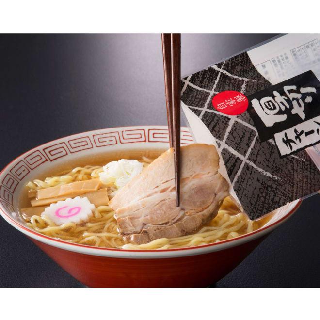 【生産者応援】河京 喜多方ラーメン(8食) 具材付き 調理例