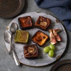 秋のバスクチーズケーキセット (5種 8個)