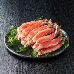生たらばがにポーション 1kg 【盛り付け例】ポーションタイプなので殻を剥く手間がありません。色々なお料理にご利用ください。※必ず加熱してお召し上がりください。