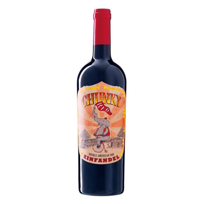【ワイン】チャンキー・レッド・ジンファンデル (750ml) かわいいラベルからは想像もつかない、濃厚な赤ワイン!
