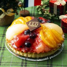 フロ・プレステ―ジュ・パリ6種のフルーツタルト(クリスマス前お届け)