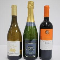 ソムリエおすすめ赤・白・スパークリングワイン3本セット
