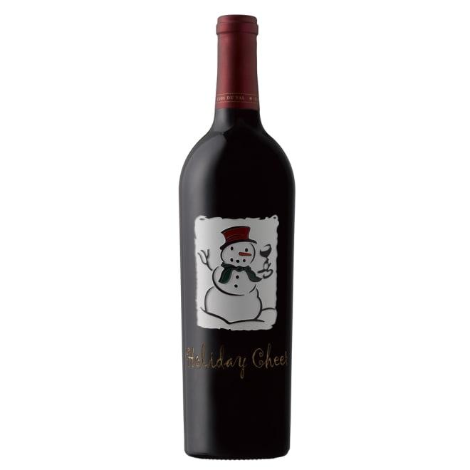 【赤ワイン】クロ・デュ・ヴァル スノーマン・ノース・コースト・ジンファンデル ラベルは日本限定にボトルをエッジング(彫り込み)して加工された、かわいらしいスノーマン(雪だるま)の絵柄でお届けします。