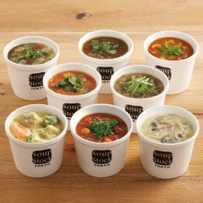 Soup Stock Tokyo(スープストックトーキョー) 野菜スープとシチューのセット (各180g 計8袋) 写真