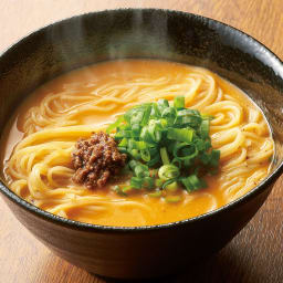 錦城の担々麺 (4袋) 【調理例】奥深い辛さとゴマの香ばしさ、四川料理店の味をご家庭で