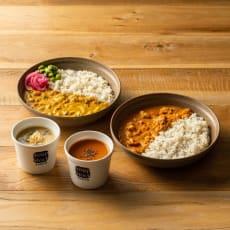 冬カレーと人気スープセット