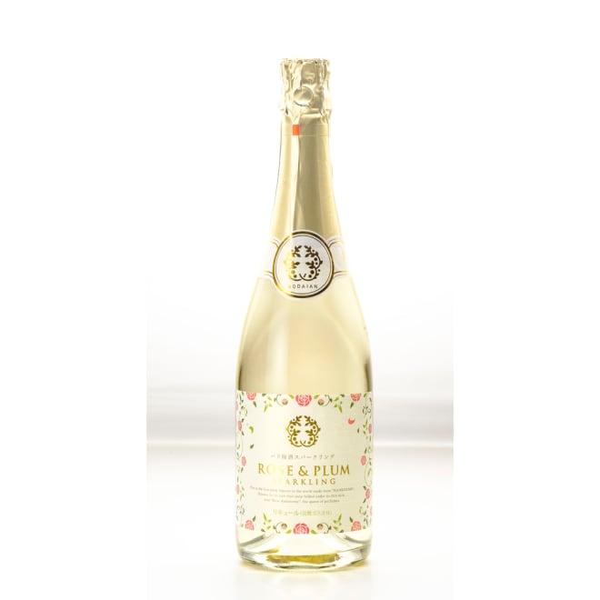 東農園 バラ梅酒スパークリング (720ml) 2013年「天満天神梅酒大会」梅酒部門で、308銘柄の中で見事入賞!<br />※ラベルデザインが変更になる場合がございます。