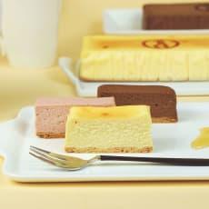 【母の日ギフト】三代目たいめいけん監修はちみつちーずケーキ3種セット (約300g×3本)