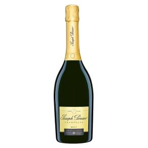 【母の日ギフト】ジョセフ・ペリエ キュヴェ ロワイヤル Brut(ブリュット) ミモザ箱入 シャンパン 写真