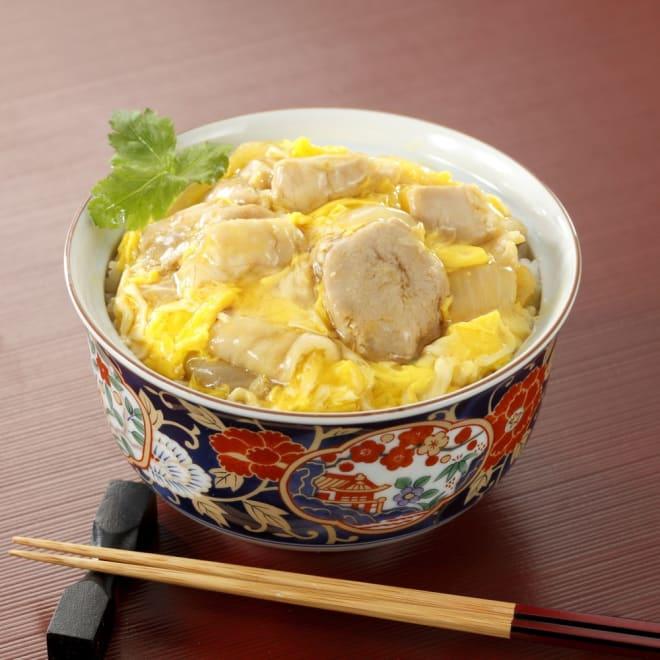 神田明神下「喜川」国産鶏の親子丼の具8食セット 【盛り付け例】神田明神下「喜川」の出汁で仕上げた親子丼の具をどうぞ。