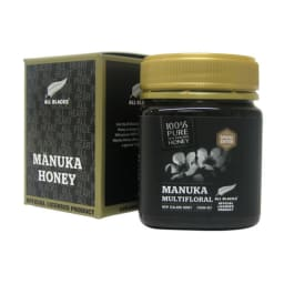 ALLBLACKS認定マヌカハニー ニュージーランドのみに自生する木花マヌカから採蜜されたマヌカハニー