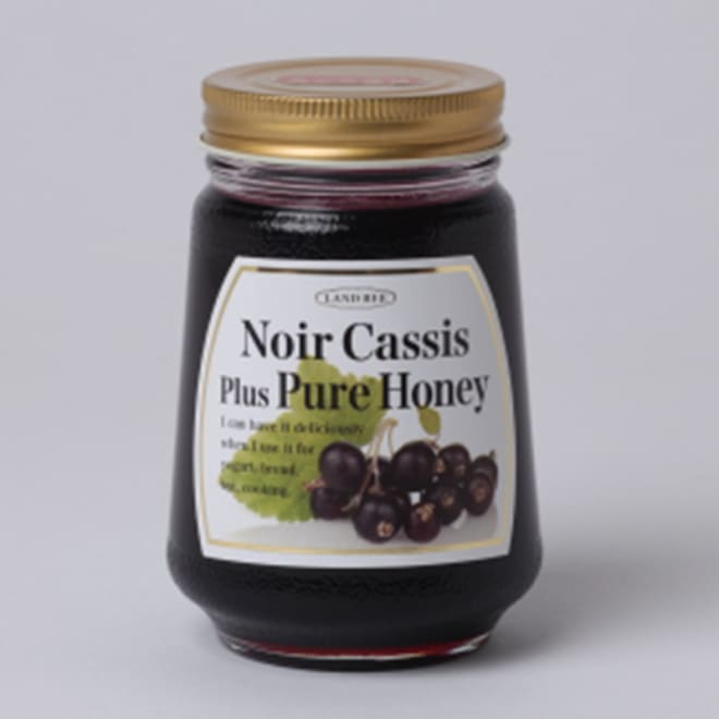 カシス蜂蜜 300g×2本 乳製品との相性が良いカシス蜂蜜をどうぞ。