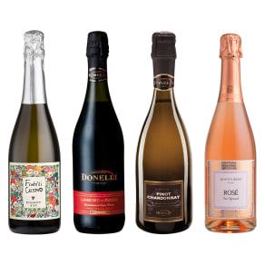 ソムリエ厳選!イタリア・スパークリングワイン4種セット 写真