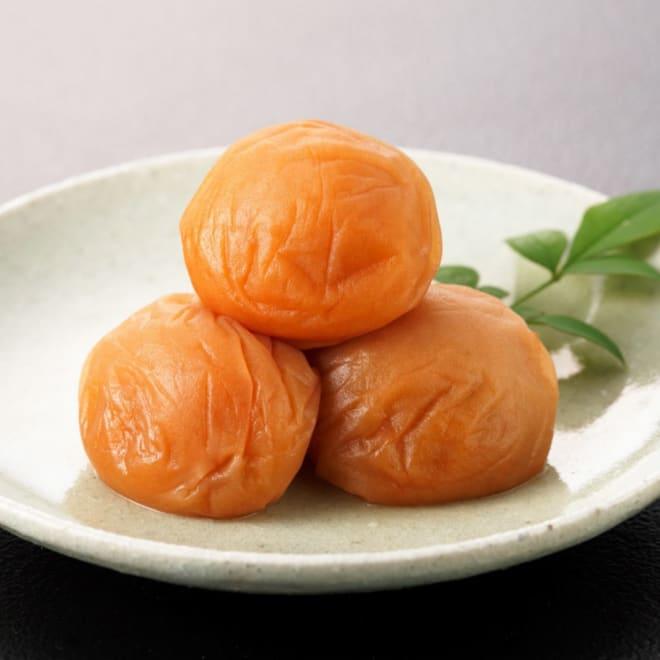 紀州南高梅 はちみつ漬梅干500g 紀州南高梅を使用したはちみつ入り調味液で漬けた梅干しです。