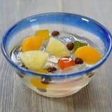 「銚子屋」蜜豆12パック 写真