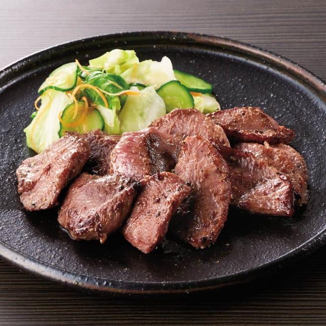 【おつとめ品】焼肉屋さんの塩だれ厚切り牛タン (500g×2袋) 【調理例】