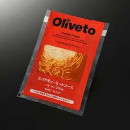 Oliveto(オリベート) スパゲッティ・ミートソースR 300g×20袋 商品パッケージ