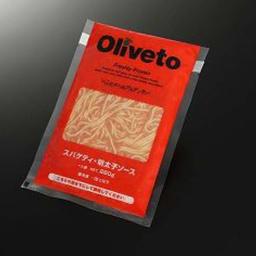 Oliveto(オリベート) スパゲッティ・明太子ソースR 280g×20袋 商品パッケージ
