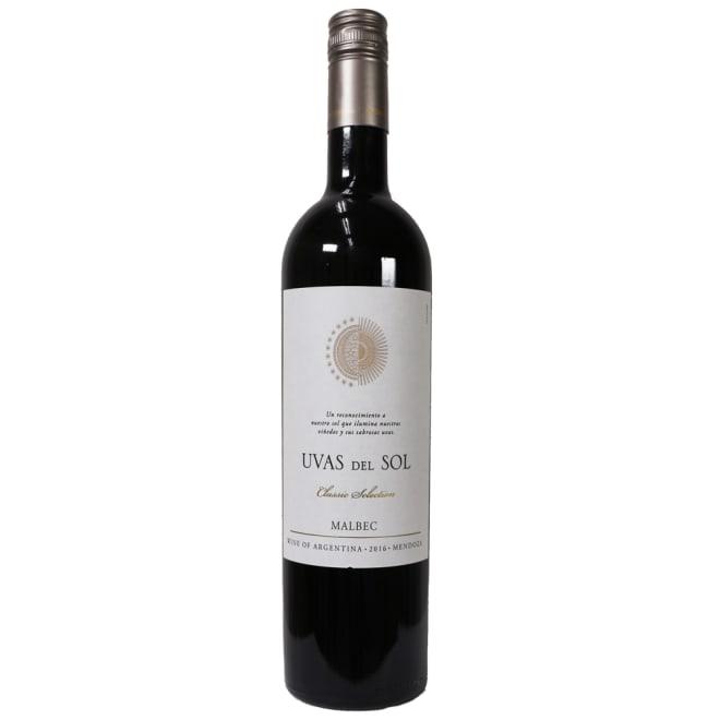 【ワイン】ウヴァス デルソル マルベック 750ml ※ヴィンテージは変更になることがあります<br />※ラベルデザインが変更になることがあります。