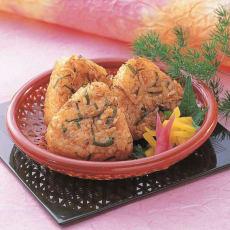 【業務用食材・食品】TableMark/テーブルマーク ちりめん焼おにぎり (50g×10個)×4袋
