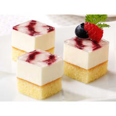フレック カット済みケーキ レアーチーズ(北海道産クリームチーズ使用) (49個) 写真