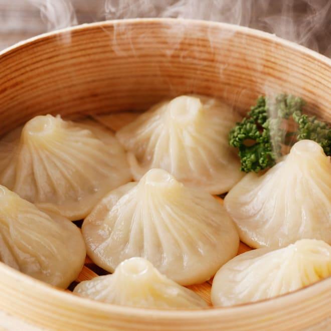 【業務用食材・食品】蒸し小籠包 (25g×50個)