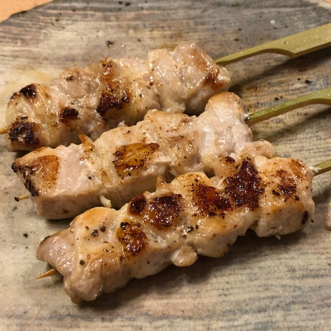 国産若鶏モモ串 (35g×30本) 【調理例】