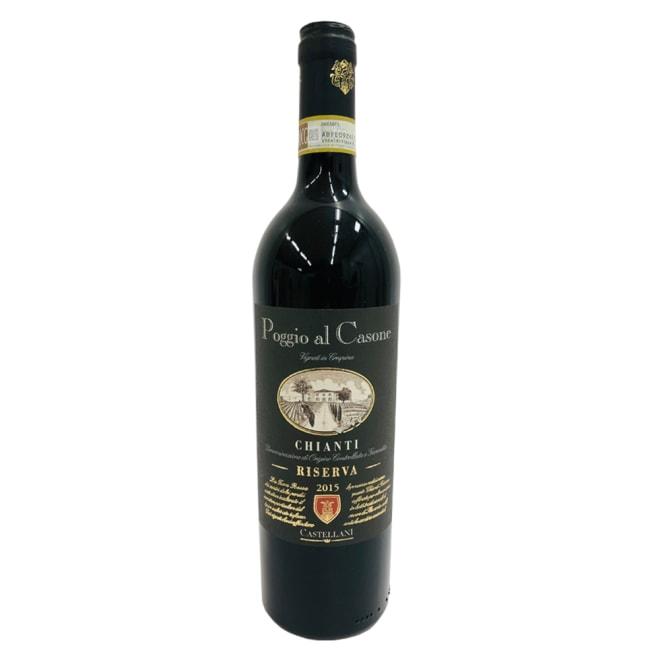 【赤ワイン】ポッジョ・アル・カッソーネ キアンティ・レゼルバ (750ml) ※ラベルデザイン等が変更になる場合がございます。