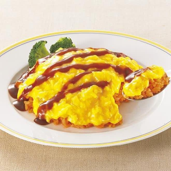 とろ~り卵のオムライス 12食 とろ~り半熟感ある卵が美味しいオムライスセットです。テレワーク時のランチにもぴったりです。