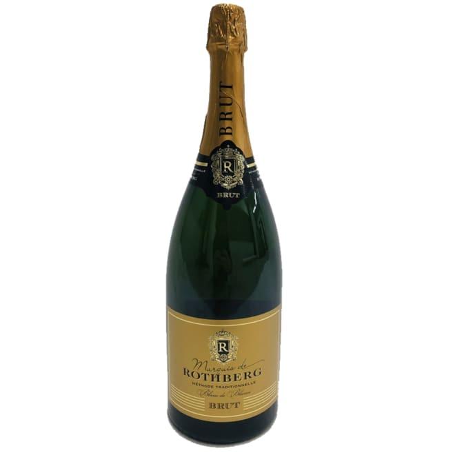 【スパークリングワイン】マルキ・ド・ローズベルグ1.5L(マグナムボトル) マグナムボトルのスパークリングで家飲みを楽しく!