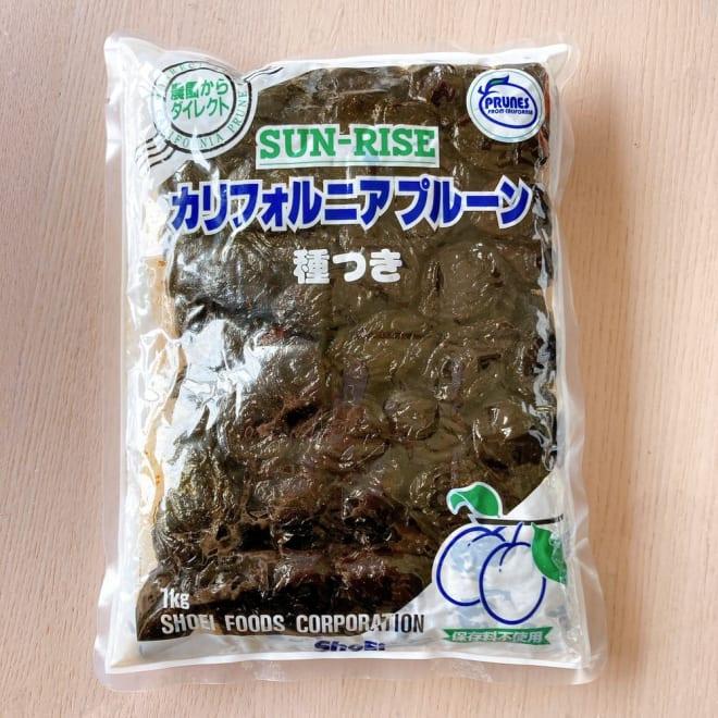 種付き大粒ソフトプルーン1kg