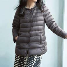 ライトダウン ジャケットコート(大きいサイズ)