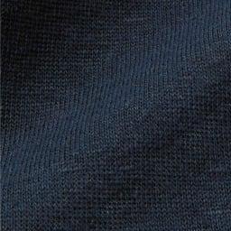 リネンプレーティング テーラードジャケット (イ)ネイビー 生地アップ