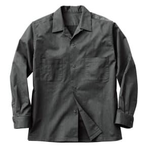 開襟シャツジャケット 写真