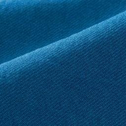 リネン風合繊素材 ダブルカフス袖 プルオーバー 生地アップ