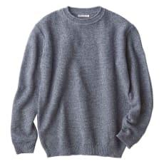 コットンリネン パール編み ニット(日本製)