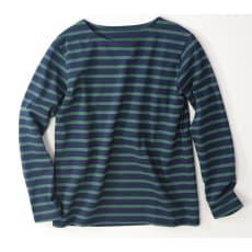 度詰めボーダーTシャツ(日本製)