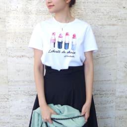 WORDROBE/ワードローブ プリントTシャツ(サイズS) ※今回こちらのお色の販売はございません。参考画像です。
