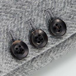 「NIKKE」 カシミヤセーブル デザイン ジャケット 袖口のボタン部分