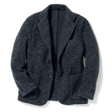 「MAPEL」 スライバーニットジャケット