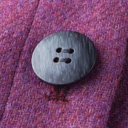イギリス素材 ボタンデザイン ツイード タイトスカート ボタン部分 ※今回こちらのお色の販売はございません。参考画像です。