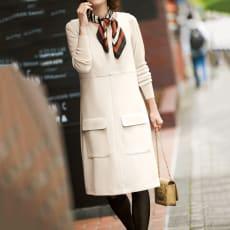 Stilconf/スタイルコンフ スカーフ付き ジャンパースカート
